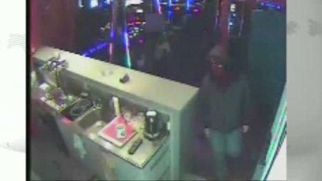 Záběr z bezpečnostní kamery v herně