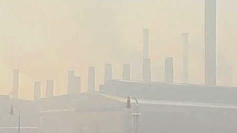 Smog na Ostravsku