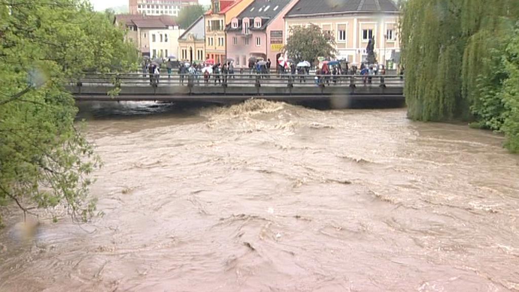Povodeň ve Valašském Meziříčí