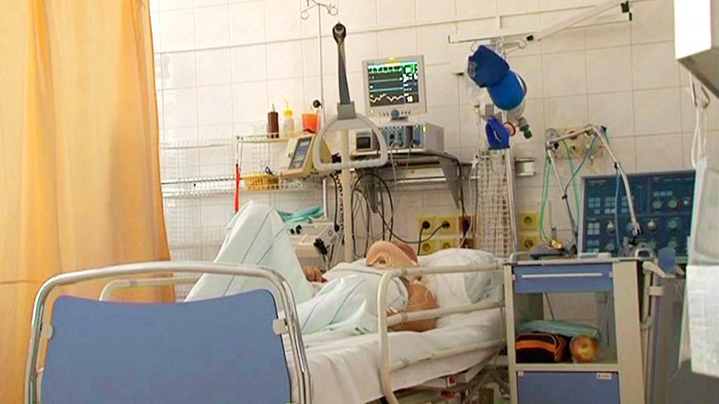 Pacient v nemocnici
