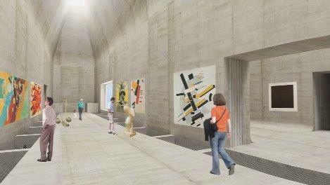Projekt nového muzea