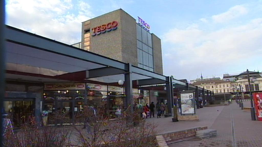 Tesco v Brně