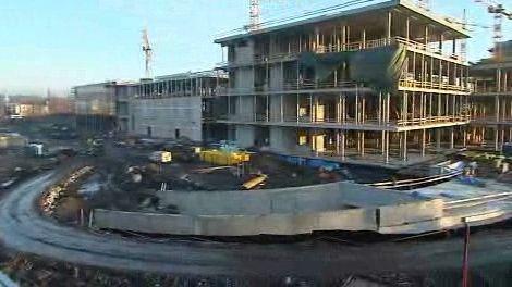 Stavba Nové Karoliny