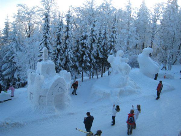 Sněhové království 2010