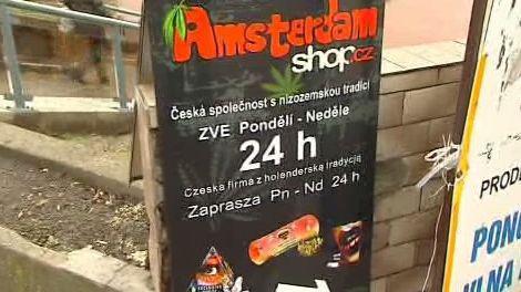 Obchod s legálními drogami v Českém Těšíně