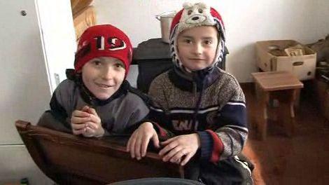 Děti v novém centru v Lopatynu