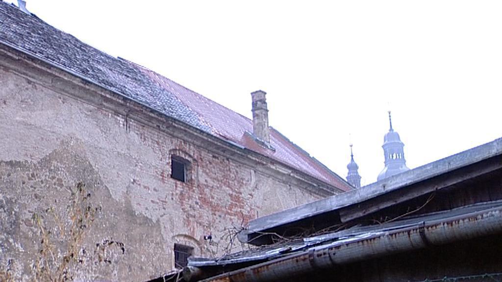 Barokní sýpka v Kostelci na Hané