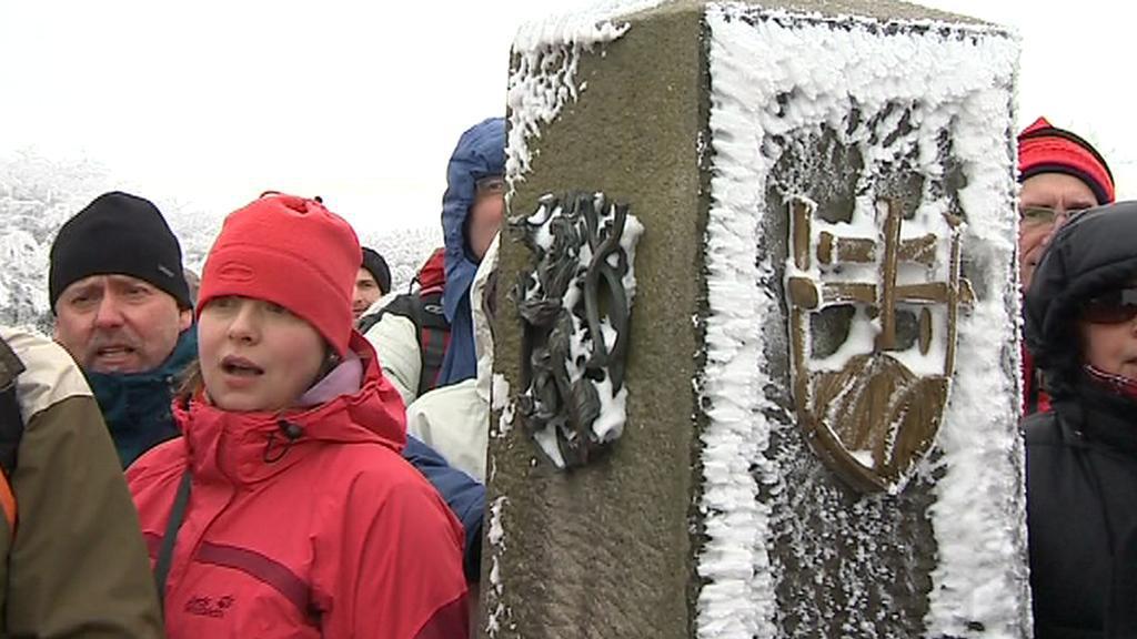 Česko-slovenský Silvestr v Bílých Karpatech