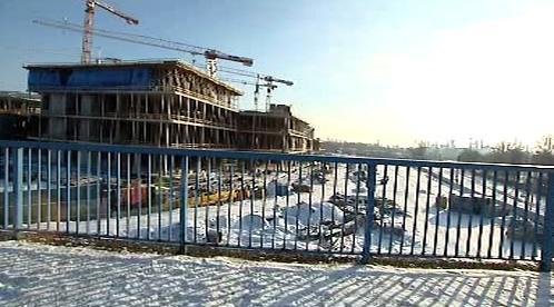 Stavba v Ostravě