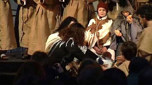 Představení o tom, jak vznikl betlém