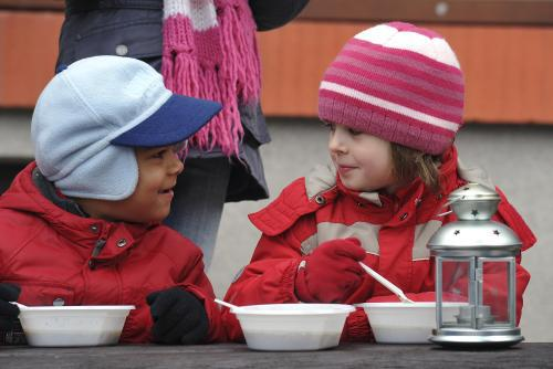 Akce Polévka pro chudé i bohaté v Boskovicích