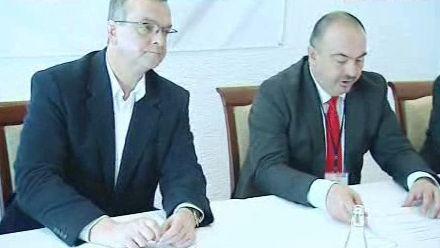 Miroslav Kalousek a Pavol Lukša