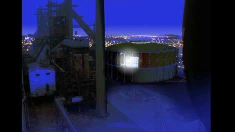 Projekt přestavby bývalého plynojemu