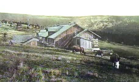 Dobový snímek Ovčárny
