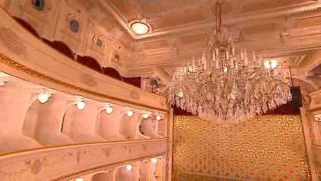 Interiér divadla