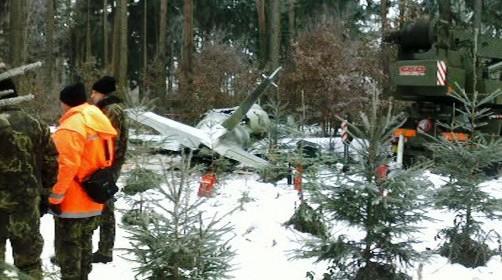Havárie armádního proudového letounu L-39 Albatros
