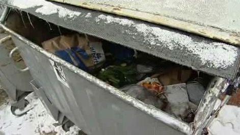 Kontejner s odpadem