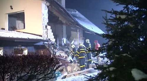 Výbuch v Petrovicích