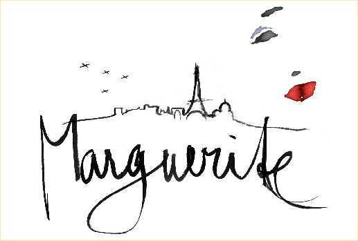 Logo muzikálu Marguerite