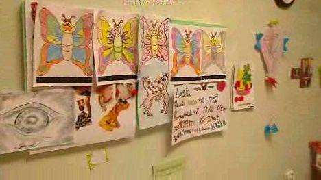 Obrázky dětí, které navštěvují centrum