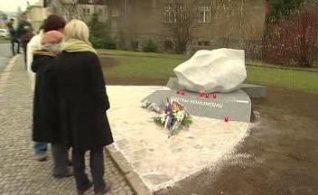 Památník obětem komunismu v Jeseníku