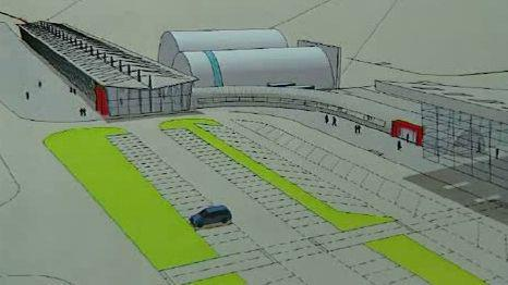 Projekt vlakem na letiště