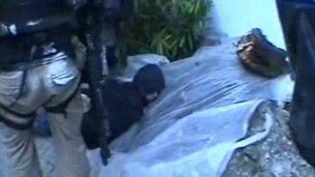 Policejní záběry z akce