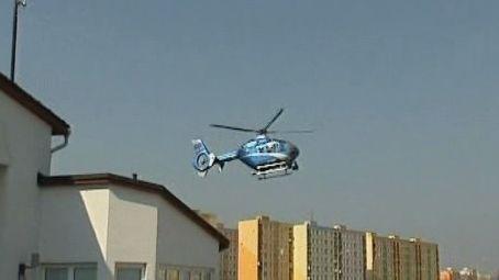 Vrtulník s termovizí