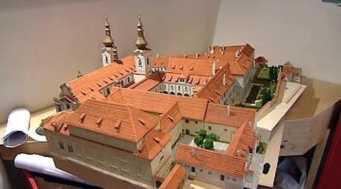 Model Strahovského kláštera