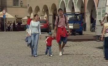 Turisté na Vysočině