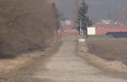 Cesta v Jaroslavicích