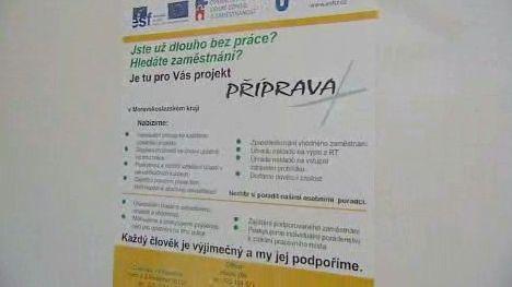 Projekt na pomoc nezaměstnaným