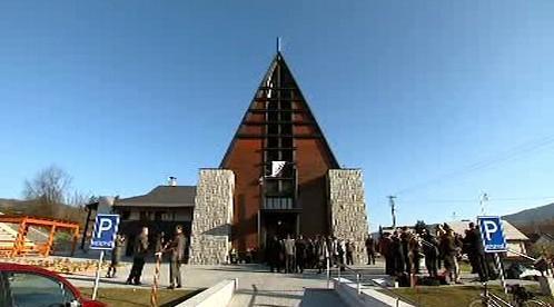 Nový kostel v Písku u Jablunkova