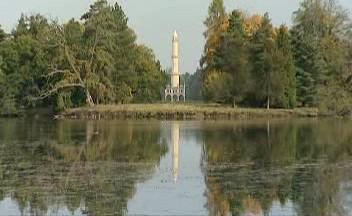 Minaret v Lednicích