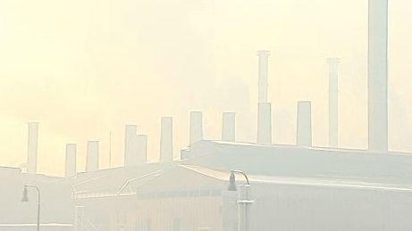 Špatná viditelnost kvůli smogu