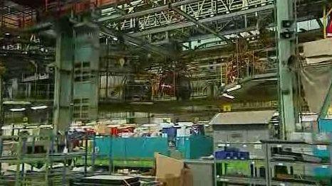 Výrobní hala společnosti Tatra