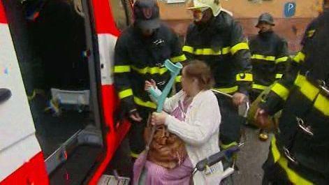 Evakuace pacientů při povodních