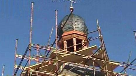 Rekonstrukce střechy na kapličce