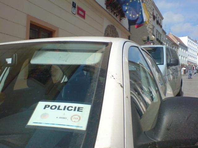 Policie obsadila znojemskou radnici