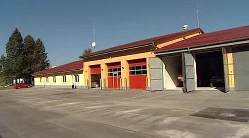 Nová hasičská zbrojnice v Kamenici