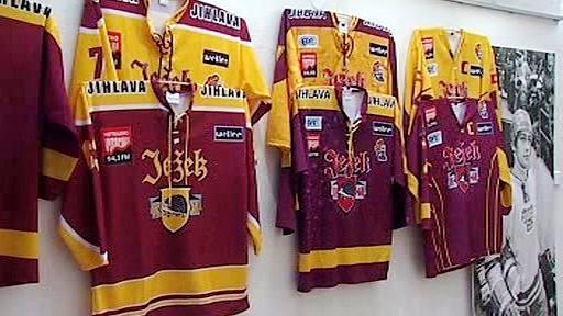 Hokejové dresy Dukly Jihlava