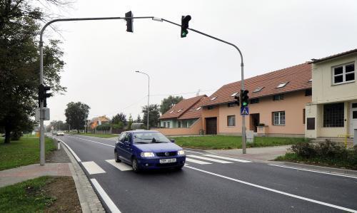 Opravená silnice