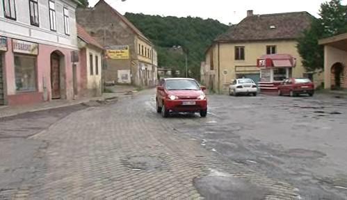 Silnice ve Vranově