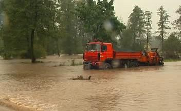 Velká voda v Petrovicích