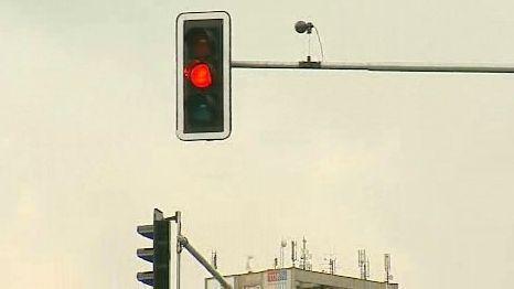 Semafory na objezdu