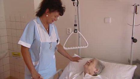 Pacientka nového hematologického oddělení
