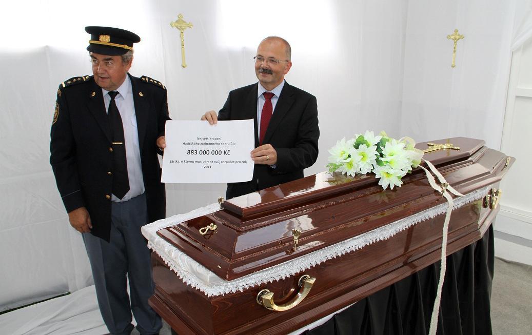 Fiktivní krematorium v Pelhřimově