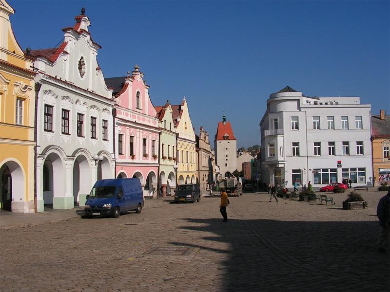 Náměstí v Pelhřimově