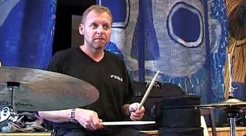 Jeden z účastníků jazzové dílny