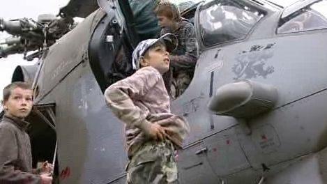 Prohlídka bojového vrtulníku